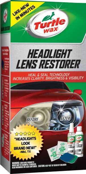 Turtle Wax Liquid Car Polish for Headlight