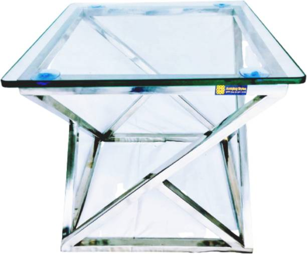 ANTIQLOG STYLES AS-DESIGNING TABLE-01 Glass Coffee Table