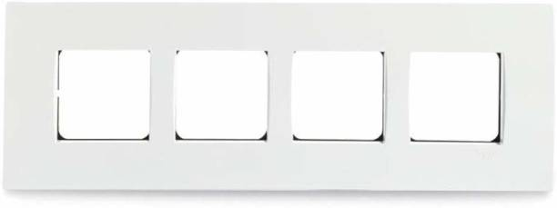 Schneider Electric Opale-8 Module Grid and Cover Plate - Horizontal(Pack of 5) Wall Plate