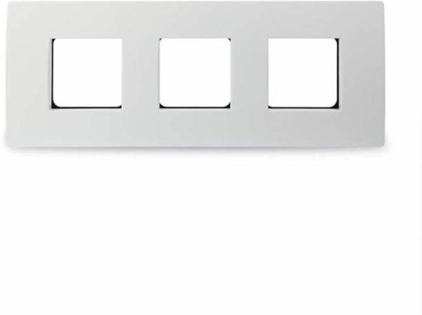 Schneider Electric Opale-6 Module Grid and Cover Plate(Pack of 5) Wall Plate