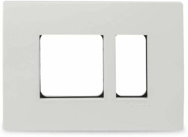 Schneider Electric Opale-3 Module Grid and Cover Plate(Pack of 10) Wall Plate