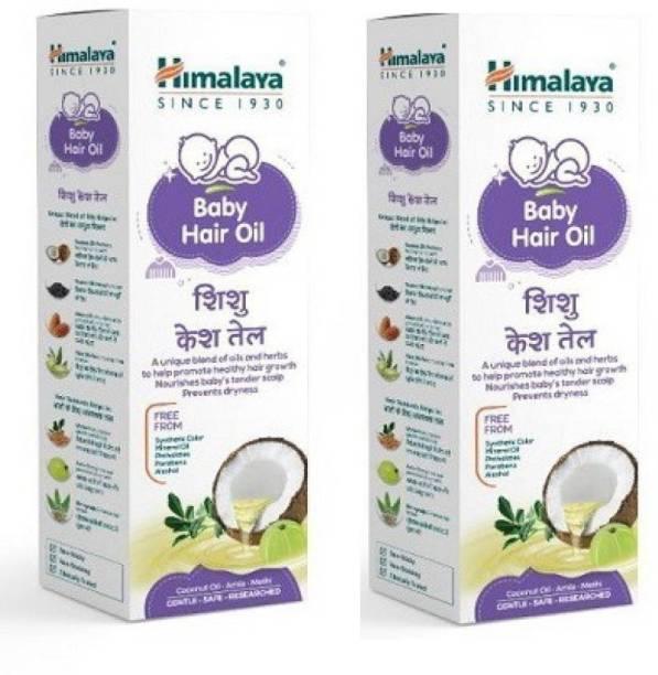 HIMALAYA Baby Hair Oil (100*2==200 ml)  Hair Oil