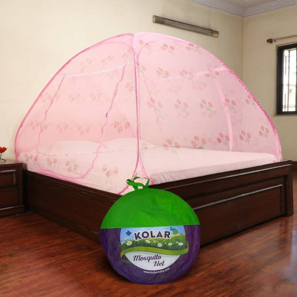 Kolar Polyester Adults Net Double bed Mosquito Net