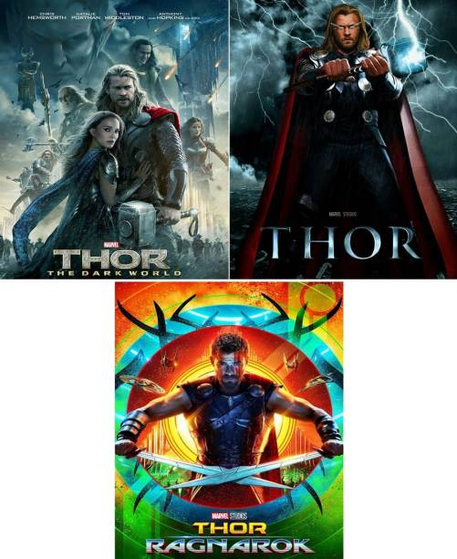 Thor , Thor: The Dark World , Thor: Ragnarok (3 movies) dual audio Hindi & English clear voice & print it's burn data DVD play only in computer or laptop it's not original without poster