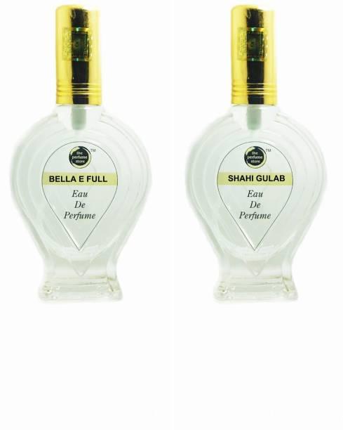 The perfume Store BELA E FULL, SHAHI GULAB Regular pack of 2 Perfume Eau de Parfum  -  120 ml
