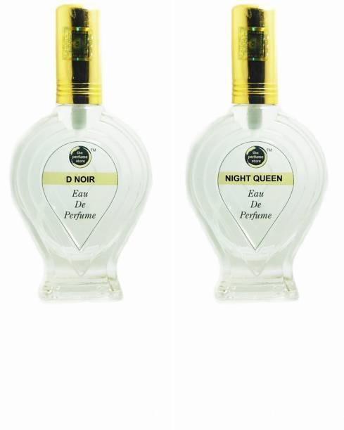 The perfume Store D NOIR, NIGHT QUEEN Regular pack of 2 Perfume Eau de Parfum  -  120 ml