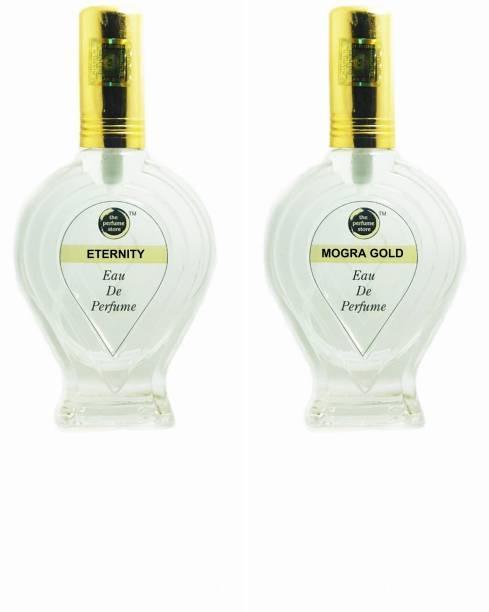The perfume Store ETERNITY, MOGRA GOLD Regular pack of 2 Perfume Eau de Parfum  -  120 ml