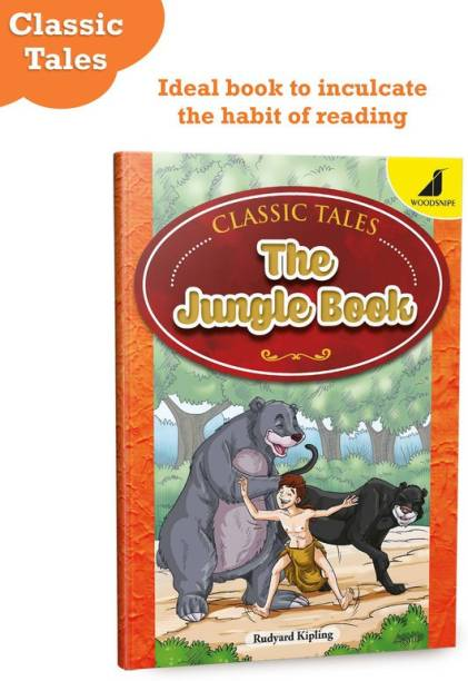 The Jungle Book By Rudyard Kipling | Story Book In English For Kids | Abridged Classics | Age 8 - 16 Years | Bedtime Story With Pictures | Classic Tale | Questions For Better Understanding