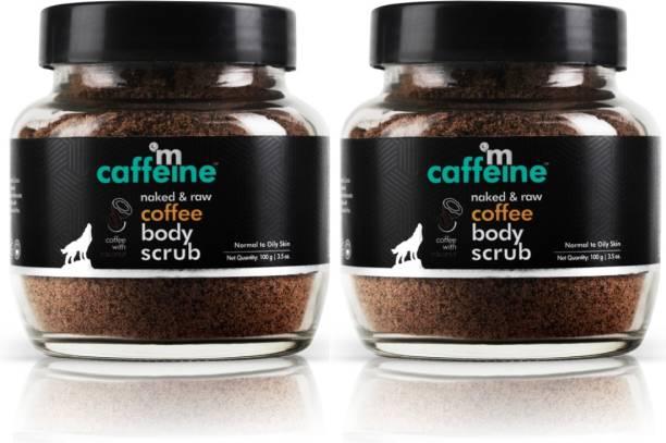 MCaffeine Exfoliate & Remove Tan Coffee Body Scrub - Pack Of 2 Scrub
