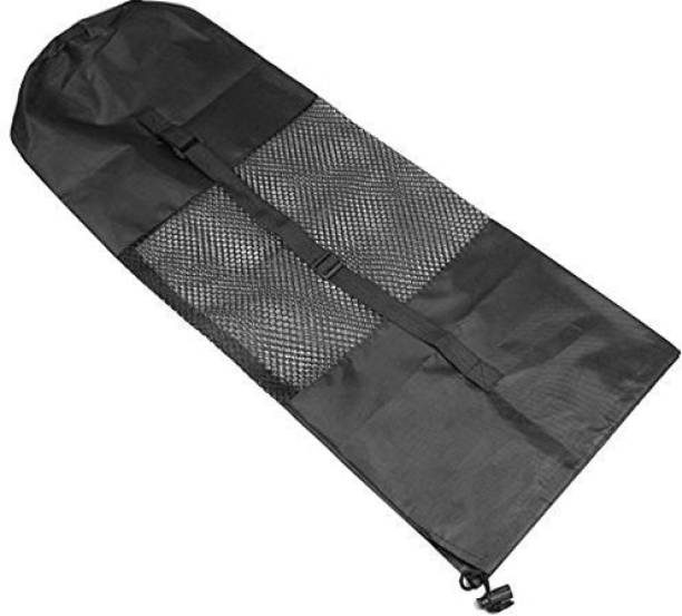 Webshoppers Yoga Bag mat Carry Exercise mat Carrying Cover with Strap - Black