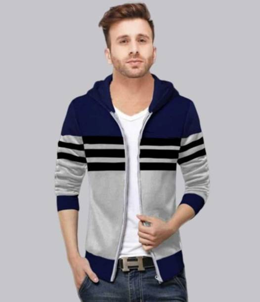 FastColors Full Sleeve Solid Men Sweatshirt