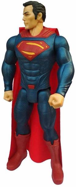 Sanchi Creation Superman Superhero Toy from Justice League   Light and Sound Effects Toy for Kids   Action Figure Toy for 3+ Years Kids