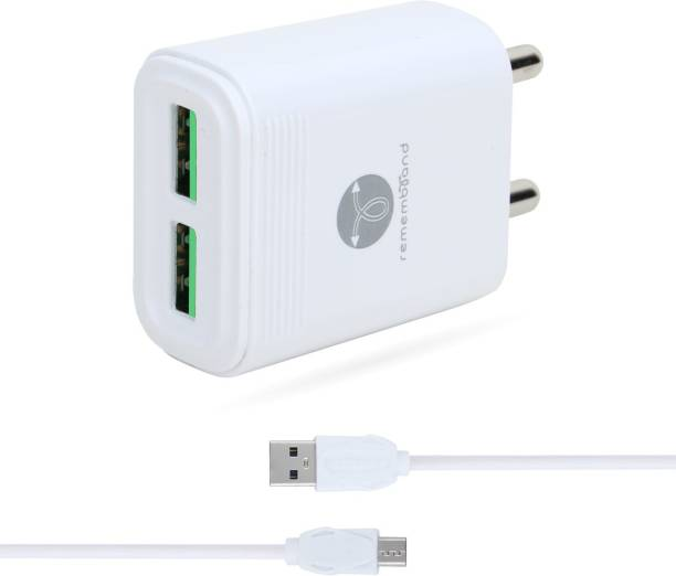 Remembrand Blaze 300 2.4 A Multiport Mobile Charger with Detachable Cable