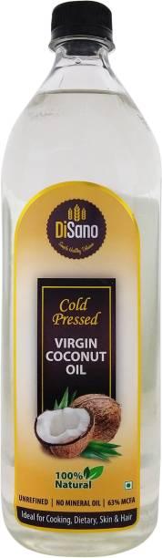 DiSano Cold Pressed Coconut Oil Plastic Bottle