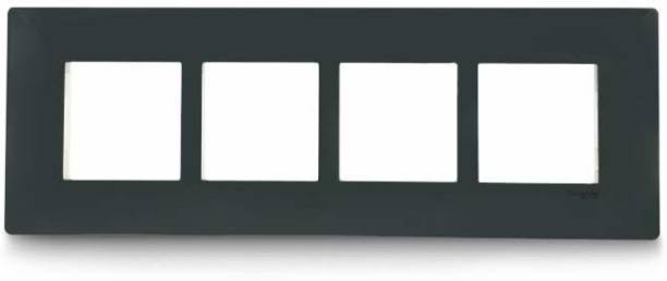 Schneider Electric Livia-8 Module Grid & 8 Module Cover Frame - Linear - Pebble Grey (Pack of 5) Wall Plate