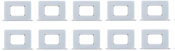 Schneider Electric Opale-3 Module Universal Grid & Cover Plate (Pack of 10) Wall Plate