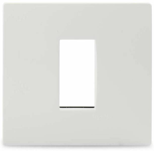 Schneider Electric Opale-1 Module Grid and Cover Plate (Pack of 10) Wall Plate