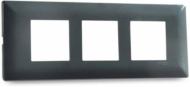 Schneider Electric Module Cover Frame - Pebble Grey (Pack of 5) Wall Plate