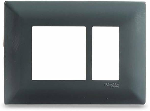 Schneider Electric Livia-3 Module Grid & 3 Module Cover Frame - Pebble Grey (Pack of 10) Wall Plate