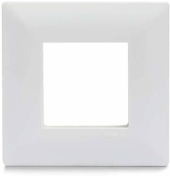 Schneider Electric Livia-1-2 Module Grid & 2 Module Cover Frame - White (Pack of 15) Wall Plate