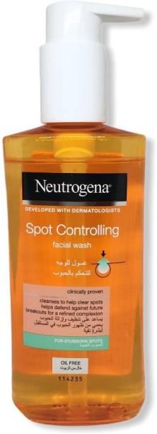 NEUTROGENA Spot Controlling Facial Wash For Stubborn Spot Face Wash