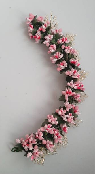 ZENCY pink polens hair brooch Bun
