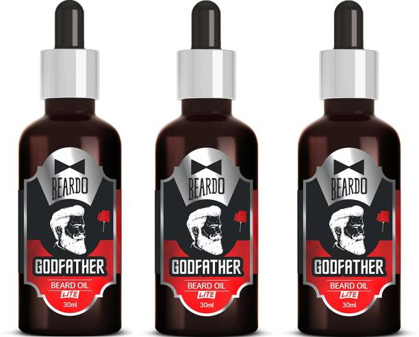 BEARDO Godfather Lite Beard Oil With Natural Ingredients Hair Oil