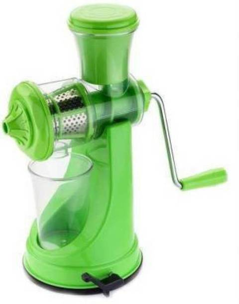 tryviz Plastic Hand Juicer Fruit And Vegetable Juicer