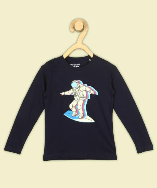 Miss & Chief Boys Printed Pure Cotton T Shirt
