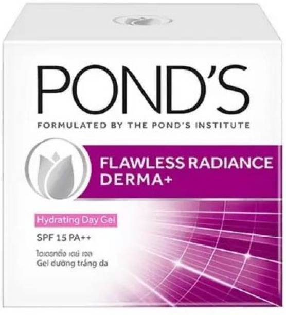 PONDS FLAWLESS RADIANCE DERMA+ HYDRATING DAY GEL SPF 15 PA++