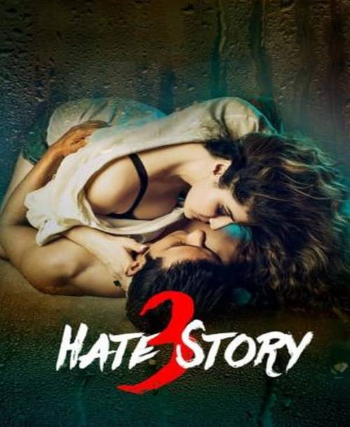 Hate Story 3 (2015) clear voice & print it's burn data DVD play only in computer or laptop it's not original without poster