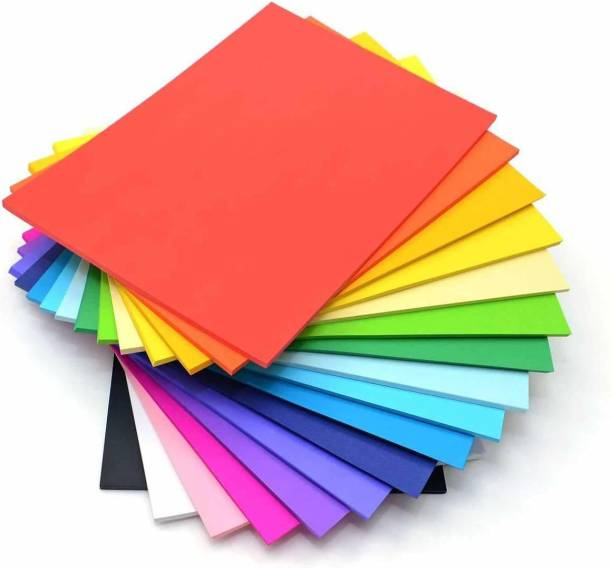 variety A/4 TINTED Color Paper UNRULED 20 X 30 CM 80 gsm Origami Paper