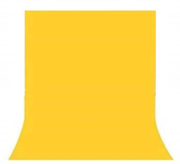 WELBORN 8X10 FT Yellow Lekera Cloth Backdrop Studio Photography Background    with Carry Bag    Reflector