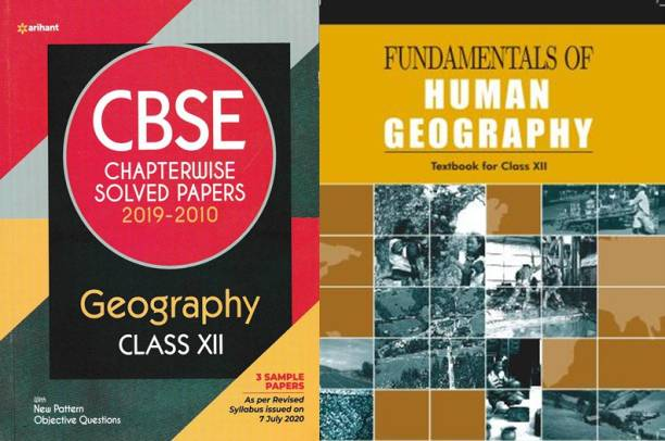 Cbse Chapterwise Solved Paper Geography Class 12th With Ncert Fundamentals Of Human Geography For Class 12th (Set Of 2 Books)