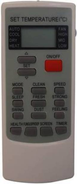 cellwallPRO 45 AC Remote 45 AC Remote Compatible for  Remote Controller (White) Voltas AC Remote Controller
