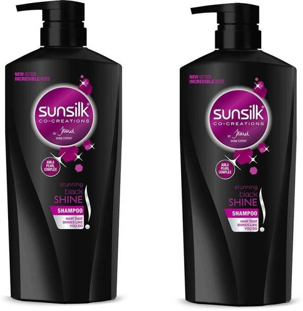 SUNSILK Black Shine Shampoo 650 ml