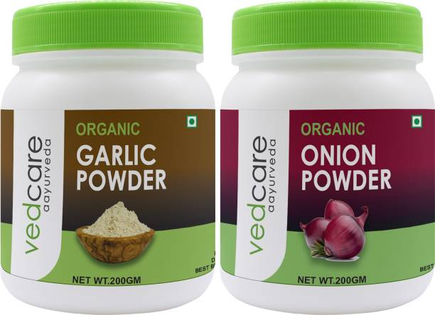 Vedcare (Garlic + Onion) Organic Powder (200g X 2)
