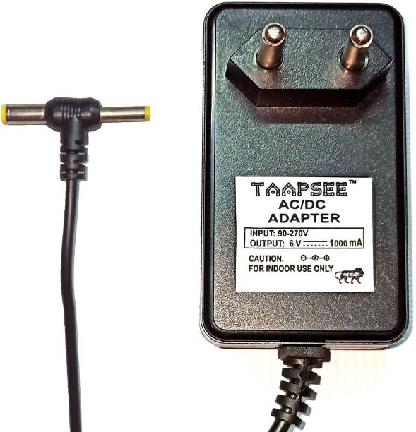 TAAPSEE 6 Volt 1 Amp High Quality Power adapter for BP Monitor Machine Worldwide Adaptor