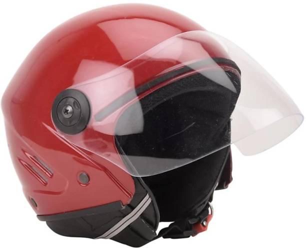 deletion Track ISI Unbreakable Helmet (Red) Motorbike Helmet