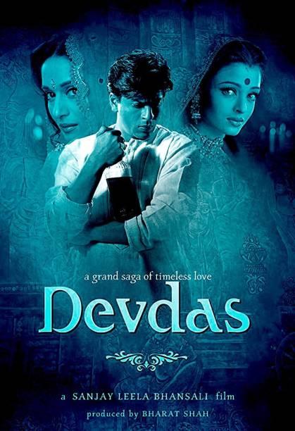 Devdas Movie Wall Poster 300GSM (Size 13X19 Inch) Paper Print