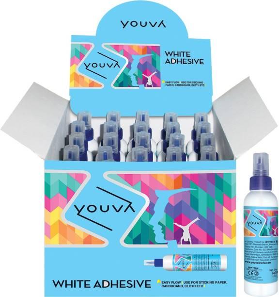 Navneet Youva White Adhesive 22.5g Non Toxic - Phthalate free (harmless) Gum