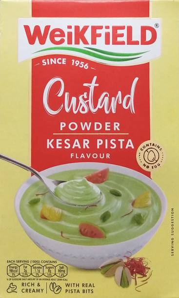 WeiKFiELD Kesar Pista Custard Powder
