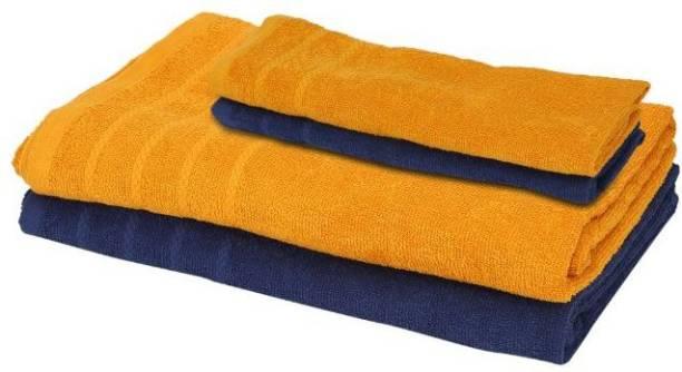 NANDAN COZY Cotton 300 GSM Bath Towel Set