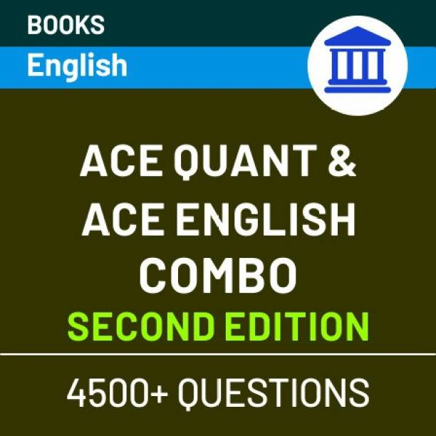 Bank Exam Books Combo of (Ace Quant & Ace English) English Edition