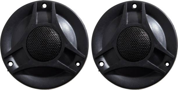 Barry John 3 inch Tweeter 3 inch Tweeter for Car & Audio System 80W max 4 ohms 4.5 KHz to 20 KHz (Pack of 2) Tweeter Car Speaker