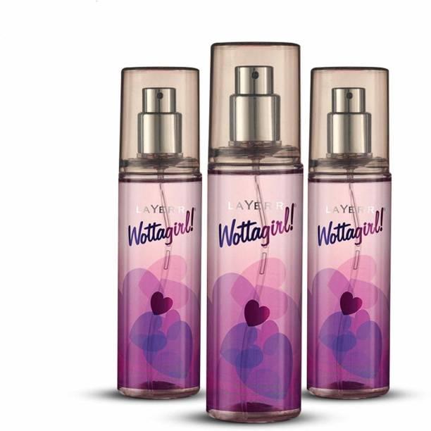 LAYER'R Wottagirl Secret Crush Body Deodorant Spray  -  For Women
