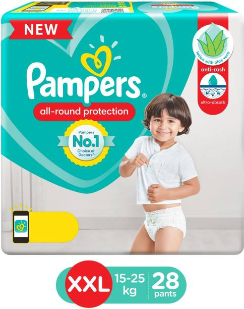 Pampers Baby-Dry Pants Diaper - XXL