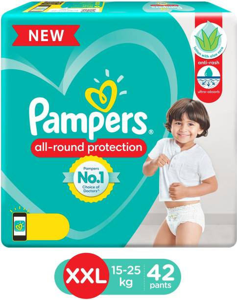 Pampers Diaper Pants with Aloe Vera Lotion - XXL