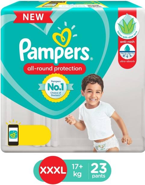 Pampers Diaper Pants Lotion with Aloe Vera - XXXL