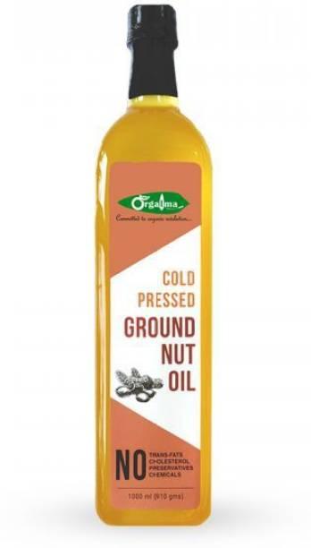 orgatma Cold Pressed Groundnut Oil (Premium) Groundnut Oil Plastic Bottle